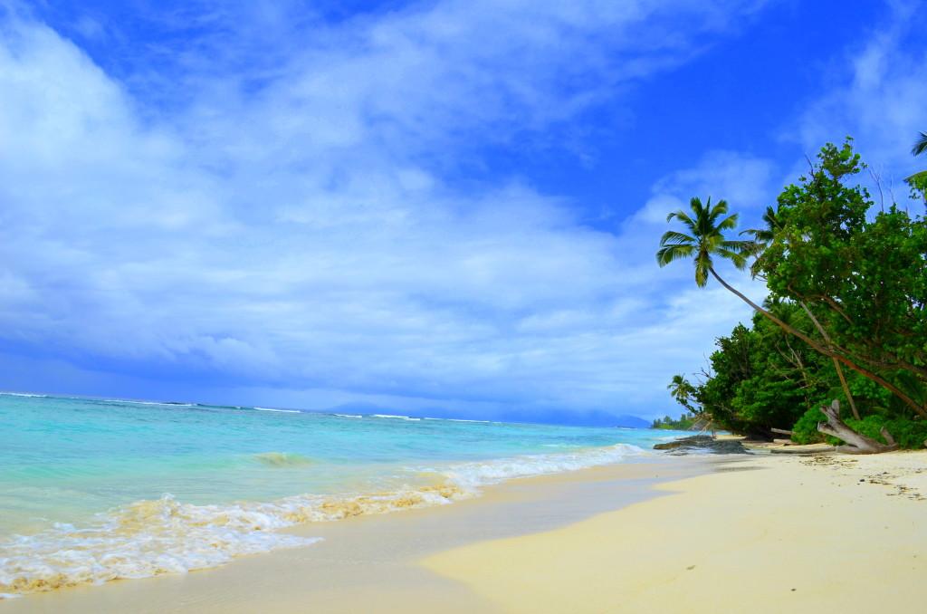 Silhouette Island Beach