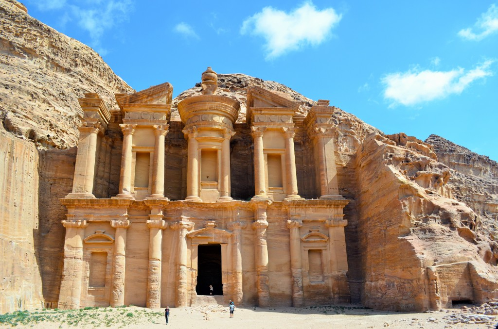 Built by the Nabateans this is the second most visited monument in Petra. The only way to access it is through a 1 hour trek of medium difficulty from Al Khazneh (The Treasury)