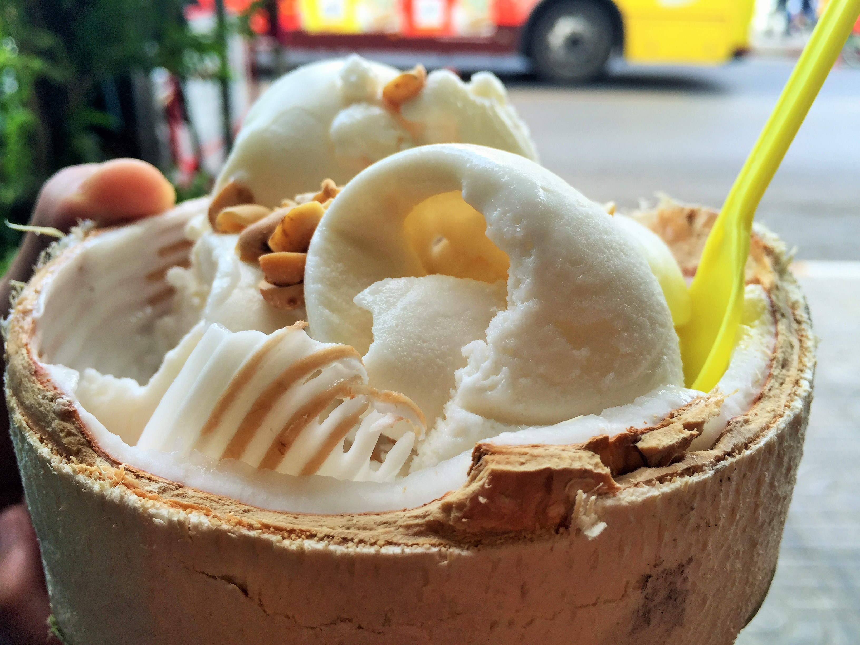 Coconut in Ice cream form... what's not to like?