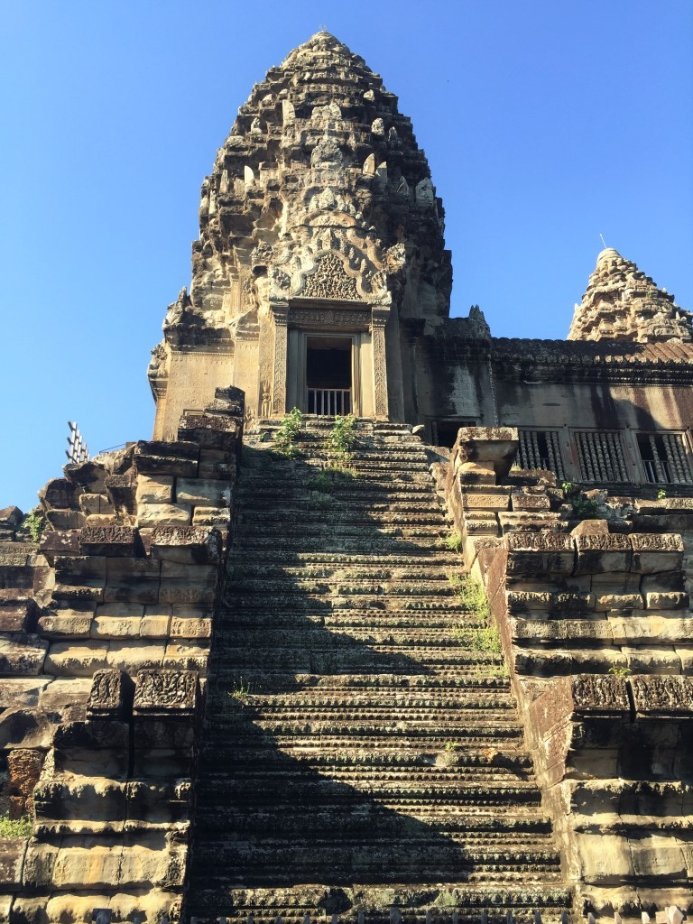 The central tower (also called Bakan) at Angkor Wat