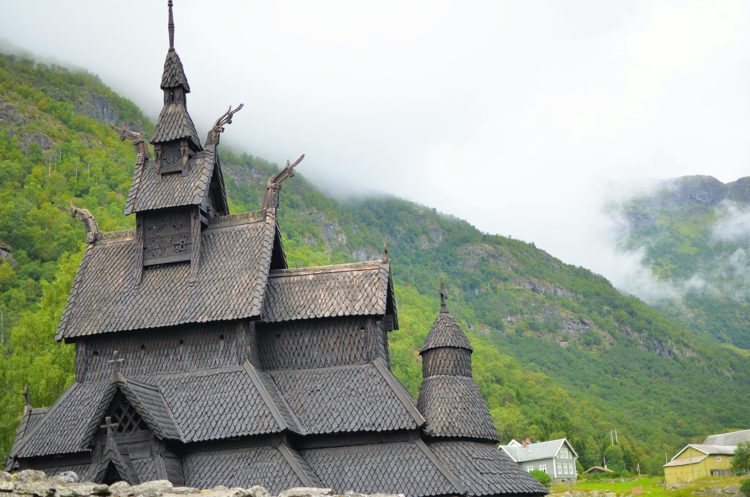 Built in 12th century, the Borgund Stave Church is one of the last remaining 28 stave churches in Norway